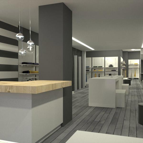 Progettazione e arredamento negozi milano arredoshop for Arredamento negozi milano