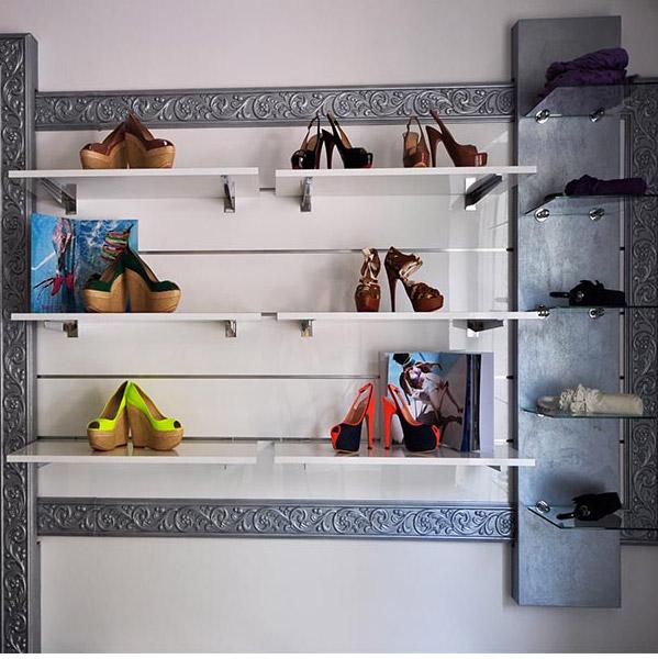 Top Arredamento negozio di calzature Milano - ARREDOSHOP FI84